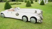 Neuvěřitelný šestikolový kabriolet z filmu The League Of Extraordinary Gentlemen