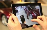 Rozšířená realita – interaktivní průvodce showroomem Ferrari