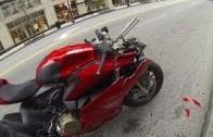 Bouračka motorky