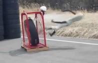 Exploze pneumatiky – co se stane, když přefouknete gumu