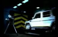 To se nepovedlo! Crash test Mercedesu třídy G – jako tank