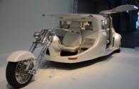 Limuzína Harley-Davidson – kočár pro novodobé princezny