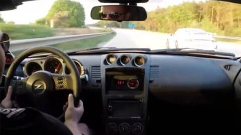 Honičku Nissanu 350Z a Porsche 991 překvapivě zkazí Golf I.