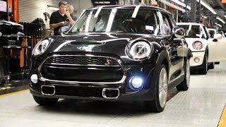 Jak se vyrábí Mini – od role plechu až po hotové auto