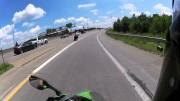 Když motorkáře vynese zatáčka