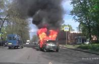 Když si zapálíš cigaretu v autě, ve kterém uniká LPG