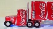 Návod jak vyrobit model kamionu z plechovek od Coca Coly