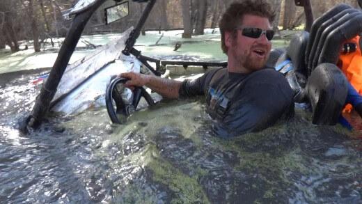 S buginou popás ve vodě – extrémní outdoor
