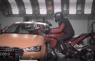 Crash test – Ducati vs Audi – vesta Apparel D´air jako airbag