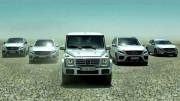 Česká modelka Petra Němcová v reklamě Mercedesu
