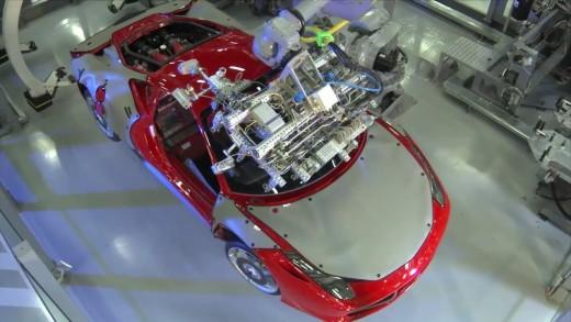 Exkurze po továrně Ferrari – fabrika snů