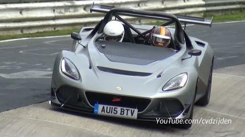 Lotus 3-Eleven, nejrychlejší Lotus všech dob předvedl na Nürburgringu dokonalý zvuk šestiválce