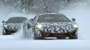 McLaren Sports Series v poslední, předprodukční fázi
