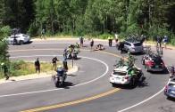 Srážka cyklisty a doprovodného auta v Utahu