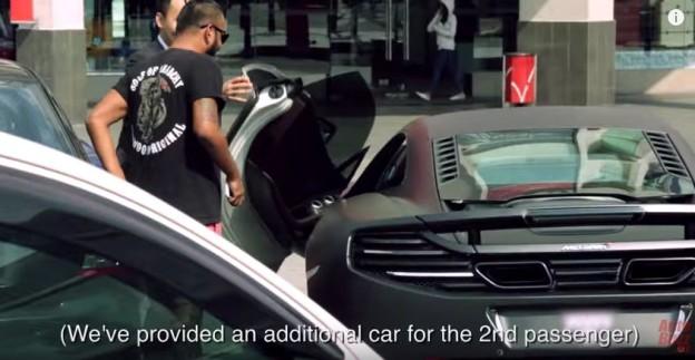 McLaren jako Uber taxi? Proč ne!