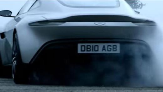 Aston Martin DB10 pro Jamese Bonda