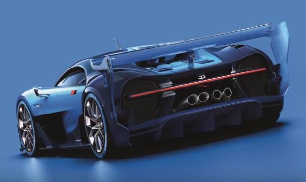Bugatti Vision Grand Tourismo Concept
