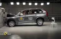 Crash testy Volvo XC-90, Audi Q7 a dalších – 9/2015