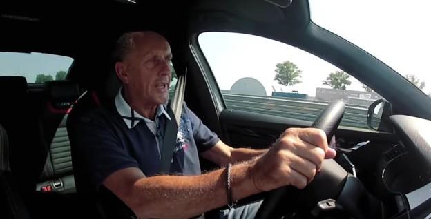Hans Joachim Stuck za volantem Octavie RS 230