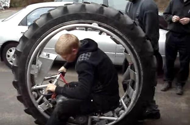 Motorka jednokolka moc nefunguje
