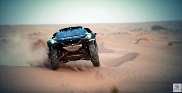 Peugeot 2008 pro Dakar 2016