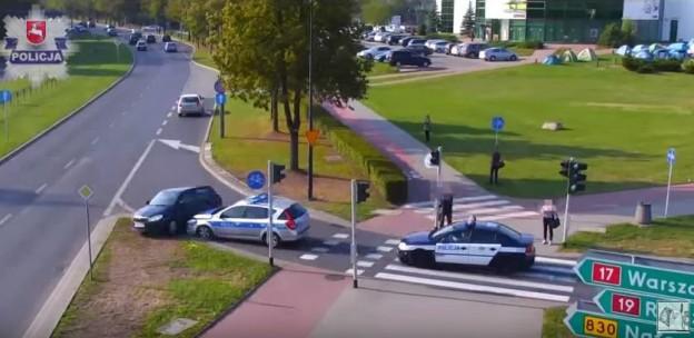 Závěr policejní honičky v Polsku