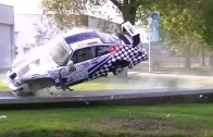 Jak zničit Porsche 964 RSR – rána – salto – koupačka