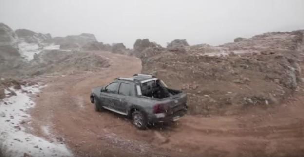 Zátěžové testy Renaultu Dacie Oroch
