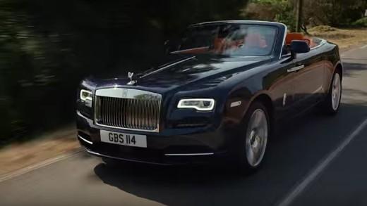 Rolls Royce Dawn je výjimečný kabriolet