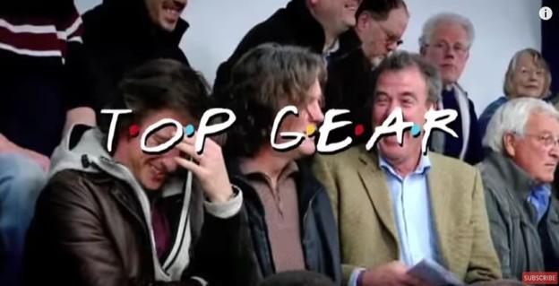 Parodie na Top Gear vs Přátelé