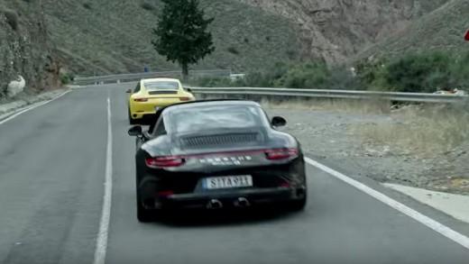 Porsche 911 turbo má pohon 4x4