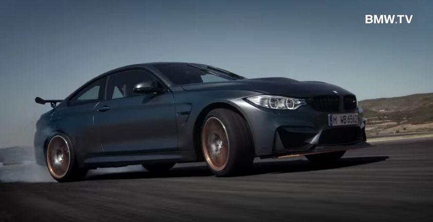 První video BMW M4 GTS