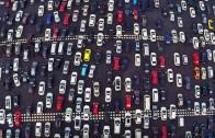 Největší dopravní zácpa na světě: 50 proudá dálnice v Pekingu