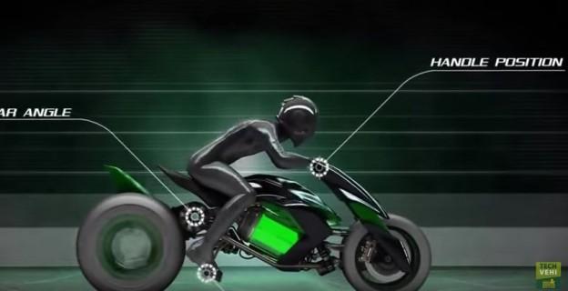 Kawasaki J Concept - elektrická motorka budoucnosti