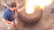 Exploze jako z děla – Jak nenazouvat gumu plamenem