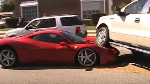 Ford přejel Ferrari