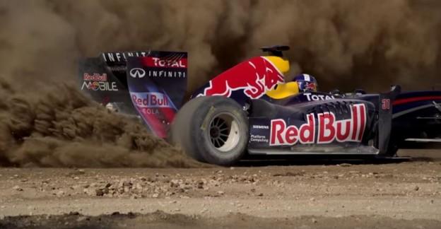 Driftující Formule 1