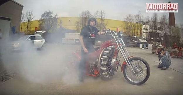 Motorka s hvězdicovým motorem