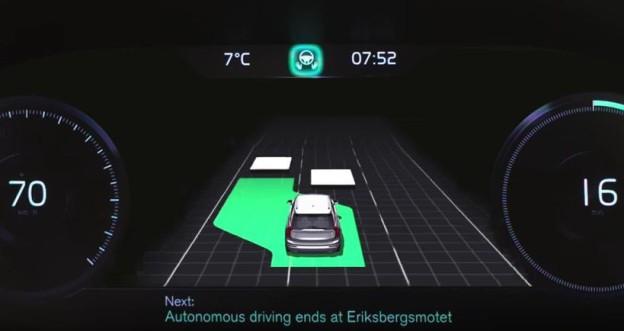 Autopilot ve Volvu umí i předjíždět