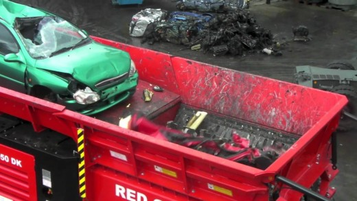 Drtička aut Hammel VB 950DK v akci