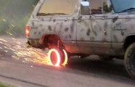 Absolutní burnout – když hoří nejen gumy, ale i disky