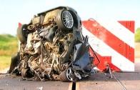 Čelní náraz v rychlosti 160 km/h – bez šance na přežití