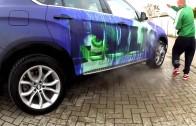 Co? BMW X6 mění pod horkou vodou barvu!