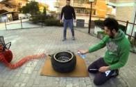 Jak nazout pneumatiku sprejem a plamenem
