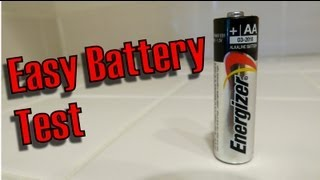 Jak zjistit, jestli je tužková baterie nabitá? Jednoduše!
