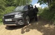 Land Rover ovládaný mobilem – Autonomous Car Technology
