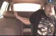Řidič bez pásů se během chvilky ocitne na zadním sedadle