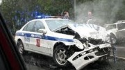 Ruské majáčky – nehody policajtů a řidičů sanitek