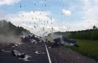Videa bouraček z ruských silnic