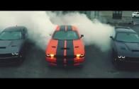Dobrý den, půjdou kluci ven? – Dodge Challenger Hellcats burnout